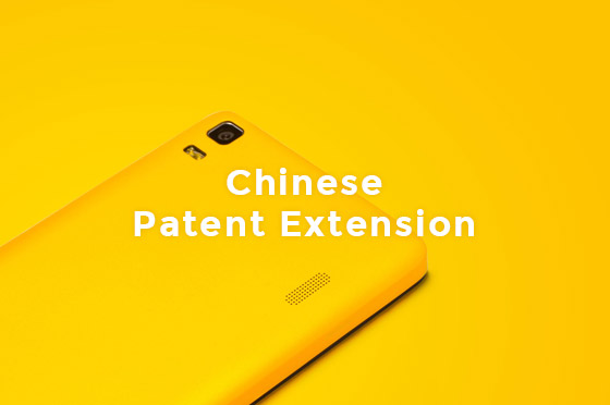 chinese patent extension